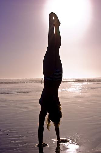 The handstand metaphors